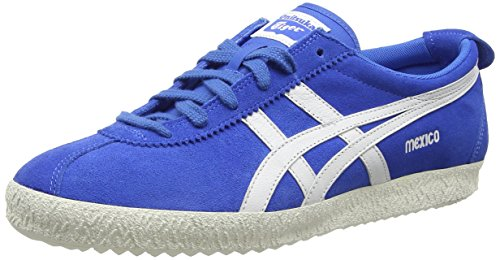 Onitsuka Tiger Mexico Delegation, Sneakers Basses Unisexe adulte Bleu - Blue (Blue/White 4201)
