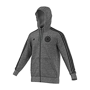 adidas Herren Hooded Zip DFB 3-Stripes