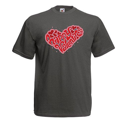lepni.me Männer T-Shirt Schönen Valentinstag -Meine Liebe Geschenke zum Ausgehen, sexy Outfits (XX-Large Graphit Mehrfarben)
