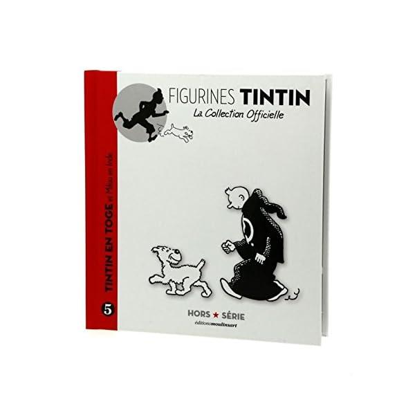 HERGE-MOULINSART- Figura de colección Tintín en túnica con Milú Hors-Série N°5 42172 (2014) 2