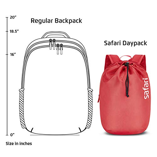 SAFARI 15 Ltrs Cherry Red Casual Backpack (DAYPACKNEO15CBCRE) Image 7