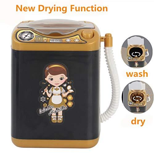 Lifet Mini-Waschmaschine Automatisch - Make-up Pinselreiniger Trocknet Tiefenreinigungsbürsten Schwamm Puderquaste Tiktok Toy - Washer Waschmaschine Kinder Play Haushaltsgerät Toy (C)