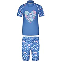 Sonnenschutz Schwimmshirt Langarm UV Badeshirt Badebekleidung Schnelltrocknend f/ür Kinder TIZAX Kinder Jungen UPF50