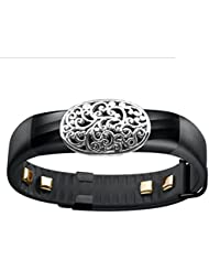 Fashion Fitness Band Bling Accessory cover for Jawbone UP UP2 up3 UP24 Activity Tracker Wristband, garmin vivosmart (ONLY bling accessory, NO TRACKERS)