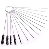 Airbrush Cleaning Set Needle & Brush Accessories Kit for Spray Gun Cleaner 15pcs