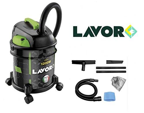 Aspiratore/Aspirapolvere/Aspiratutto solidi e liquidi 1400W 20lt. Lavor - Joker 1400S (Cod.:5263)