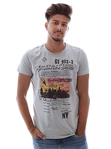 Gaudi jeans 62BU60004 T-shirt Man Grey