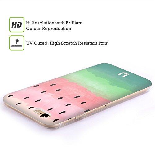 Head Case Designs Aquarelle Estampes De Pastèque Étui Coque en Gel molle pour Apple iPhone 5 / 5s / SE Aquarelle