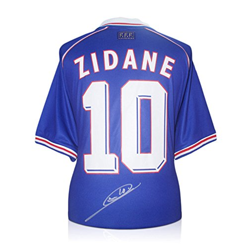 Zinedine-Zidane-Signed-France-1998-Football-Shirt