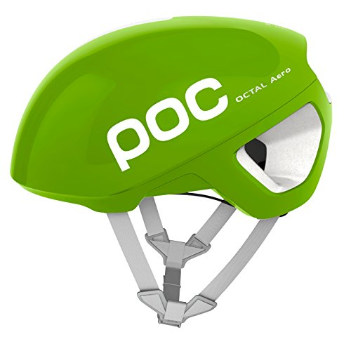 POC Octal Aero–Casco de Bicicleta para Adultos, Unisex, Color Cannon Green, Tamaño Medium