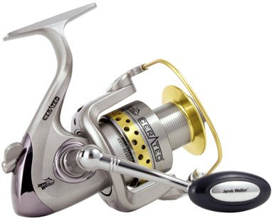 Rovex Ceratec Fixed Spool Spinning Reel 4000 in white by Jarvis Walker