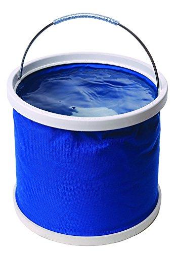 Cubo plegable Cubeta de agua portátil Multiuso - Apto para acampar, Deportes al aire libre, Uso doméstico, Cubo de agua para lavado de autos Capacidad de 11L - Ligero y fácil de transportar 7