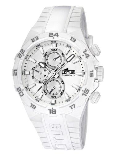 4fbd2d29569d Lotus 15800 5 - Reloj analógico de cuarzo para hombre con correa de plástico