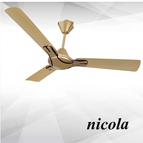 Havells Nicola 1200mm 72-Watt Ceiling Fan (Bronze Copper)