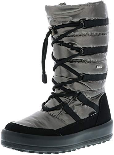 Vista Damen Winterstiefel Snowboots metallic/silbertöne, Größe:41, Farbe:Silber