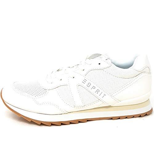 ESPRIT Damen Astro LU Sneaker Weiß (White 100) 39 EU