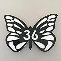 Butterfly Shaped House Signs