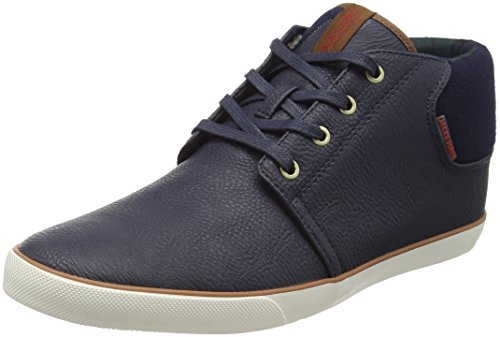 Jack & Jones Vertigo, Sneakers Hautes homme - Bleu - Blue (Navy Blazer), 11 UK 45 EU