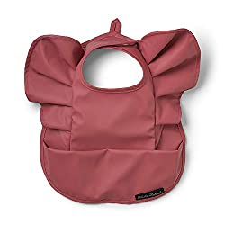 Elodie Details Lätzchen für Baby - Winter Blush Red, Rot