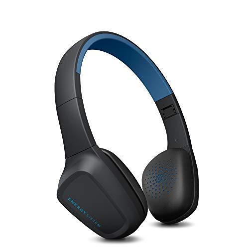 Energy Sistem Headphones 3 Bluetooth Blue - Auriculares (Control por Voz, Audio-In, batería ampliada, Plegable), Color Azul