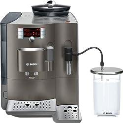 Bosch TES71353DE Kaffee-Vollautomat VeroBar 300 AromaPro (2.1 l, 19 bar, externes Milchsystem) silber