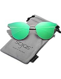 Amazon.es: gafas de sol unisex - Plateado / Gafas de sol ...