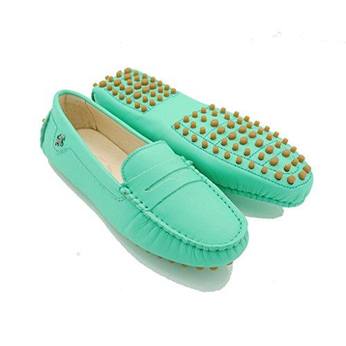 Meijili , Sandales Plateforme femme Turquoise