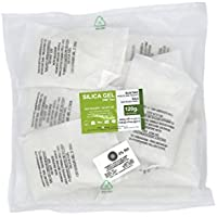 Silikagel/ Kieselgel, Trockenmittel, 10 Päckchen à 120g aus Vließsstoff
