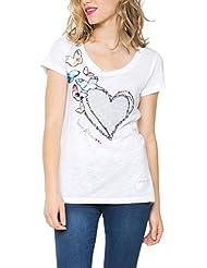Desigual Ts_electra - Camiseta Mujer