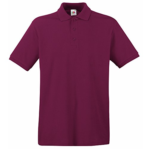 Fruit of the Loom Premium polo Burgundy
