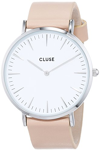 CLUSE Womens Analogue Classic Quartz Connected Wrist Watch with Leather Strap CL18231