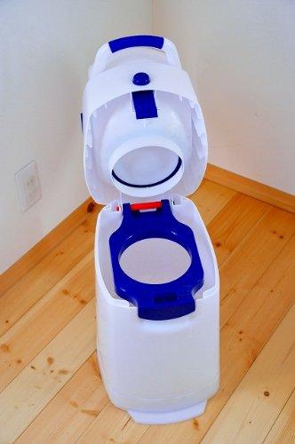 Geruchsdichter Windeleimer Diaper Champ regular blau – für normale Müllbeutel - 13