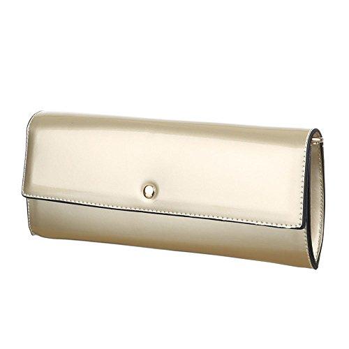 Ital-DesignClutch-tasche Bei Ital-design - Clutch Donna gold