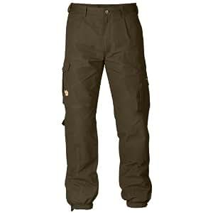 Fjällräven Greenlamd–Pantaloni da uomo, 81200, - Dark Olive (633), 34
