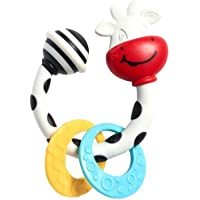 Tiny Love Smarts Teether/Rattle, Cow