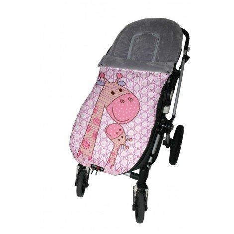 Tris&Ton Saco silla de paseo universal para bebe, saco funda cochecito con forro polar impermeable invierno saco de abrigo (Trisyton)