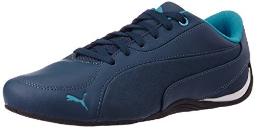 Puma Men's DriftCat5LEA Blue Wing Teal and Atomic Blue Sneakers - 6 UK/India (39 EU)
