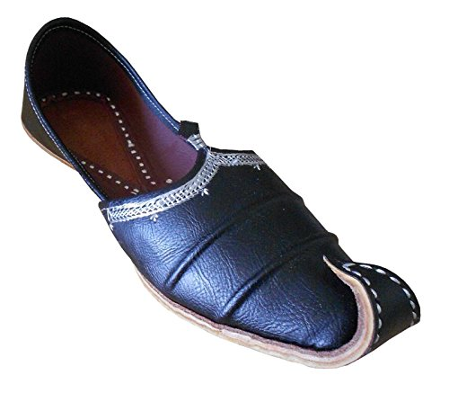 Kalra-Creations-Mens-Traditonal-Indian-Faux-Leather-Casual-Shoes