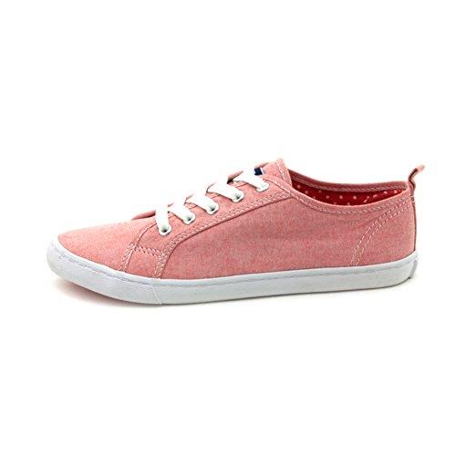 Automne chaussures de toile/Asakuchi sangle chaussures occasionnelles/ chaussure féminine de fond plat couleur unie A