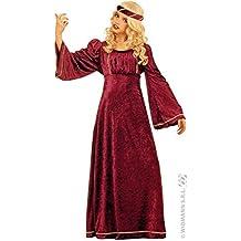 Widmann WDM37127 - Costume Per Bambini Giulietta (140 cm/8-10 Anni ), Viola, XS