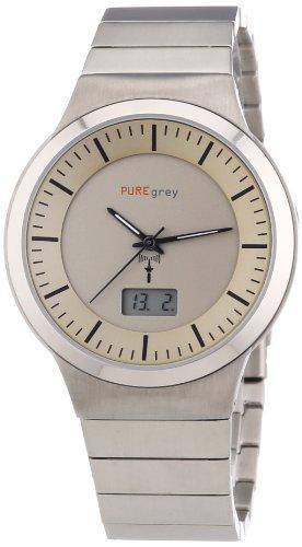 Pure grey Titan Herren - Funkuhr 1711.9092