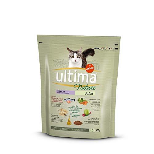 Ultima Nature Pienso para Gatos Esterilizados con Salmón - 400 gr