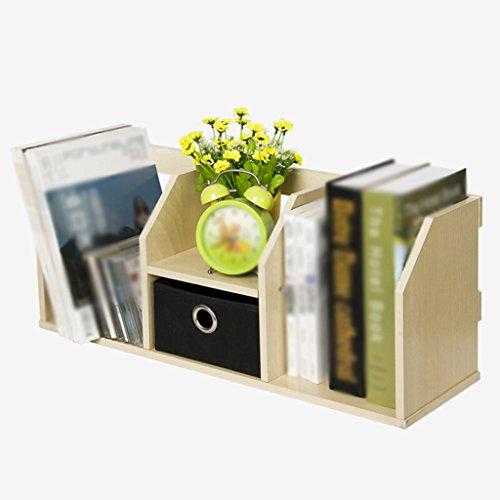 DFHHG® Librería Libro Soporte 60 (largo) * 21 (ancho) * 24,5 (alto) Cm Con bastidor Escritorio Escritorio Rack de almacenamiento durable