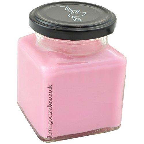 Diseño de flamenco velas limonada rosa vela - rosa