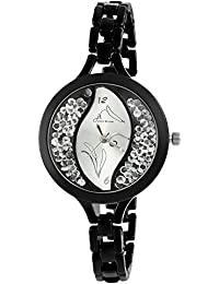 Jack Klein Black Metal Wrist Watch for Women