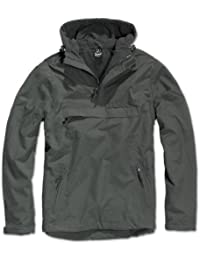 Brandit Herren Windbreaker, Color:anthrazit;Größe:S