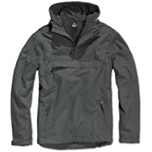 Brandit Herren Windbreaker, Color:anthrazit;Größe:XL