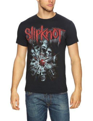 Bravado - Maglietta, collo rotondo, manica corta, uomo, Nero (Schwarz - Black), X-Large