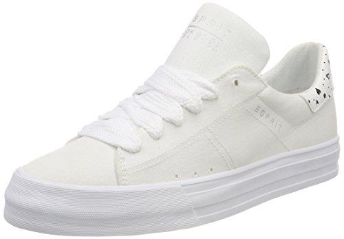 ESPRIT Damen Simona Sneaker, Weiß (White), 38 EU