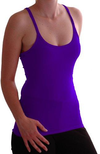 Eyecatch - Nikki Racer Back Damen Vest Top Purple